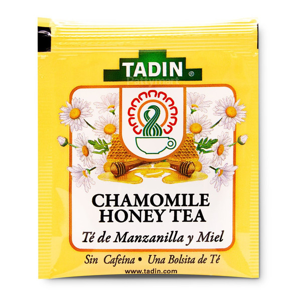 Te Manzanilla y Miel/Tea Chamomile with Honey_Bag_Bolsa