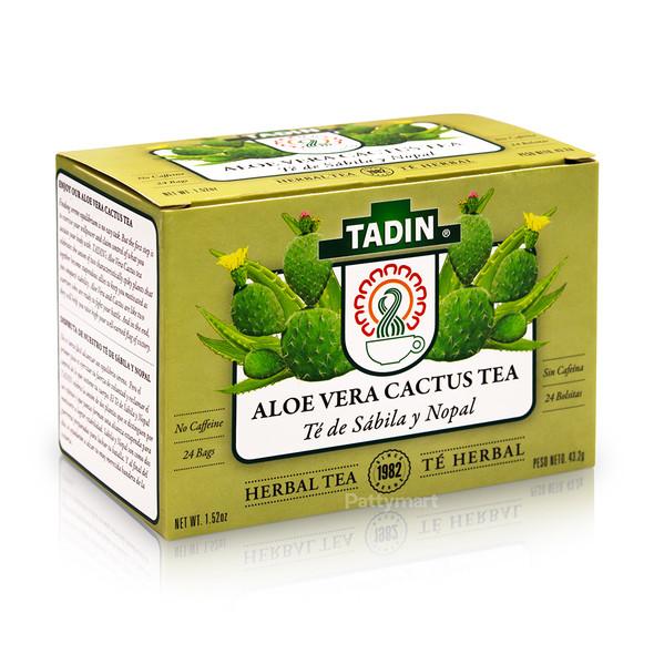 Te Sabila y Nopal/Tea Aloe Vera with Cactus TADIN_Box_Caja