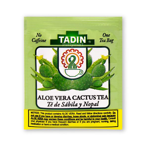 Te Sabila y Nopal/Tea Aloe Vera with Cactus TADIN_Bag_Bolsa