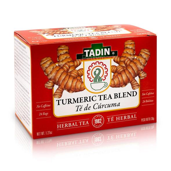 Te Curcuma/Turmeric Tea Blend TADIN_Box_Caja