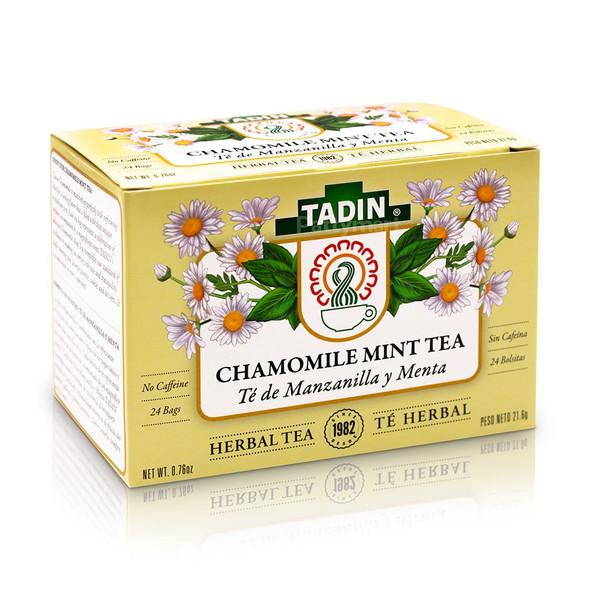 Te Manzanilla con Menta/Tea Chamomile with Mint_Box_Caja