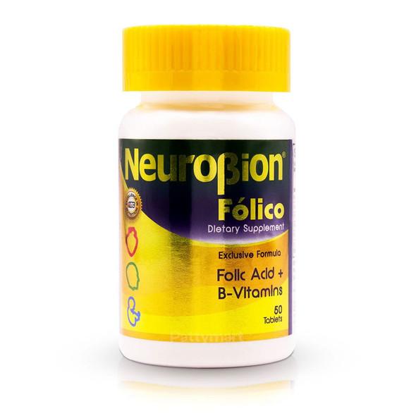 Neurobion Folico 50 caps_Jar_Frasco