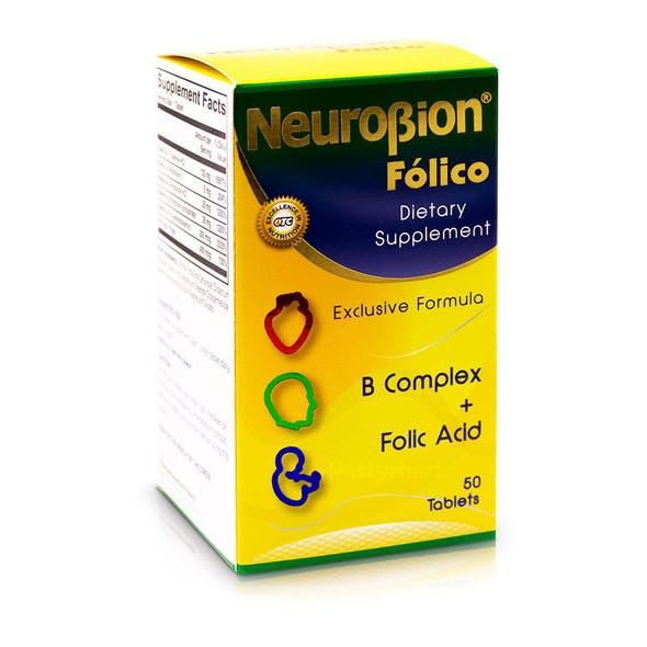Neurobion Folico 50 caps_Box_Caja
