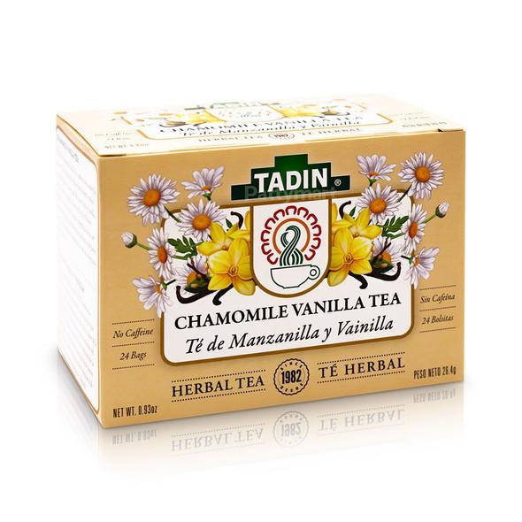 Tea Manzanilla y Vainilla/Chamomile with Vainilla Tea_Box_Caja