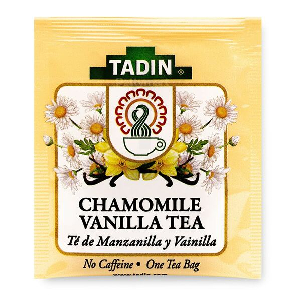 Tea Manzanilla y Vainilla/Chamomile with Vainilla Tea_Bag_Bolsa