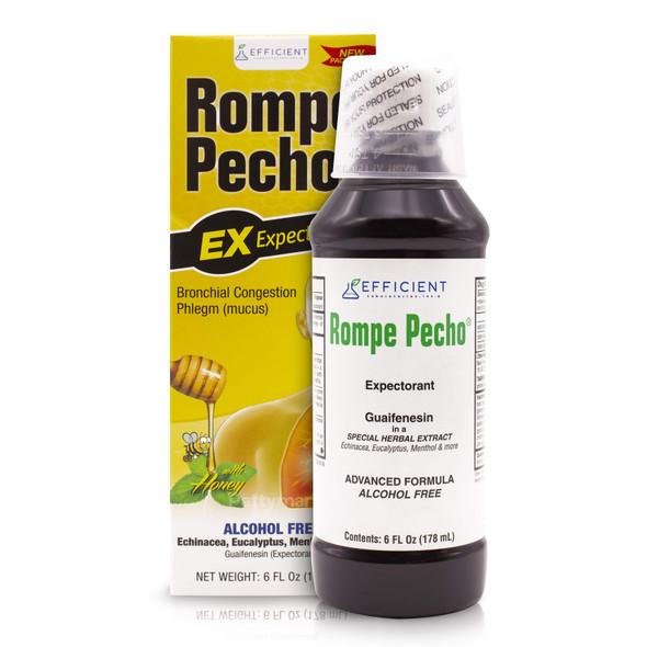 Rompe Pecho Expectorante 6 oz_Box&Jar_CajaYFrasco