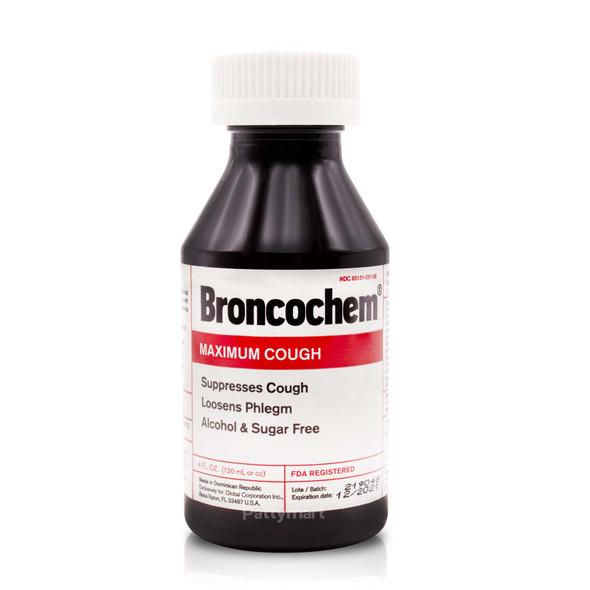 Broncochem Maximun Cough Syrup 4 oz_Jar_Frasco