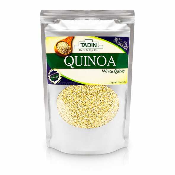 Quinoa Seed 12 oz TADIN_Front_Bag