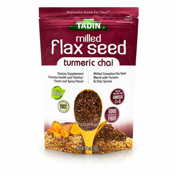 Milled Flax Seed Turmeric Chai TADIN - bag 7 oz_Bag_Bolsa