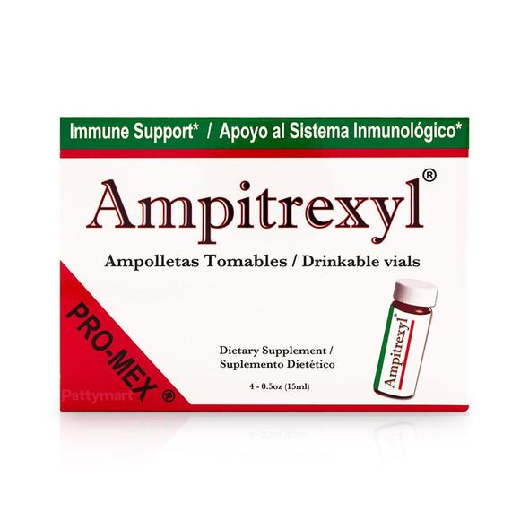 Ampitrexyl x 4 Ampolletas Bebibles