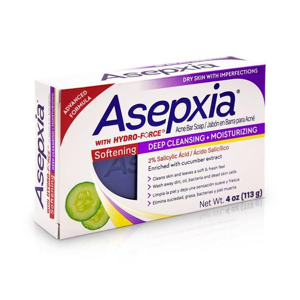 Asepxia Moisturizing Softening Bar Soap 4 oz