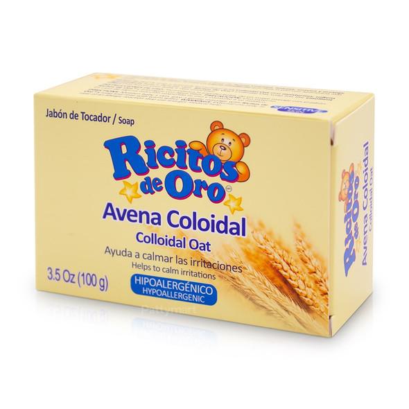 Ricitos de Oro Colloidal Oat Soap / Jabon Avena Coloidal 3.5oz (100g)