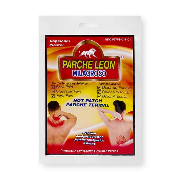 Parche Leon Milagroso/ Lion Patch_Bag_Bolsa