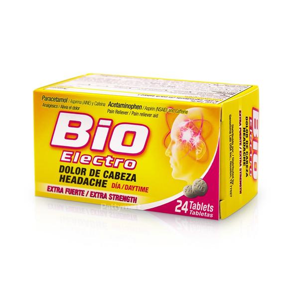 Bioelectro Dia X 24 Tabs_Box_Caja