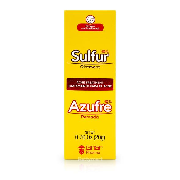 Pomada Azufre Sulfur GRISI_Box_Caja