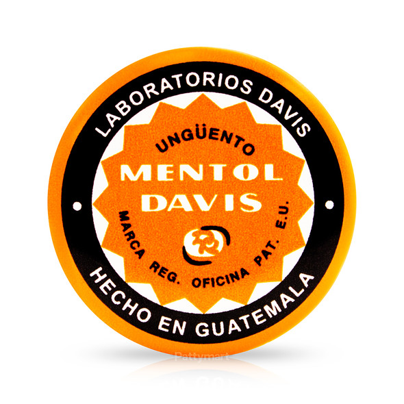 Mentol Davis Chico 1.77 g_Jar_Frasco