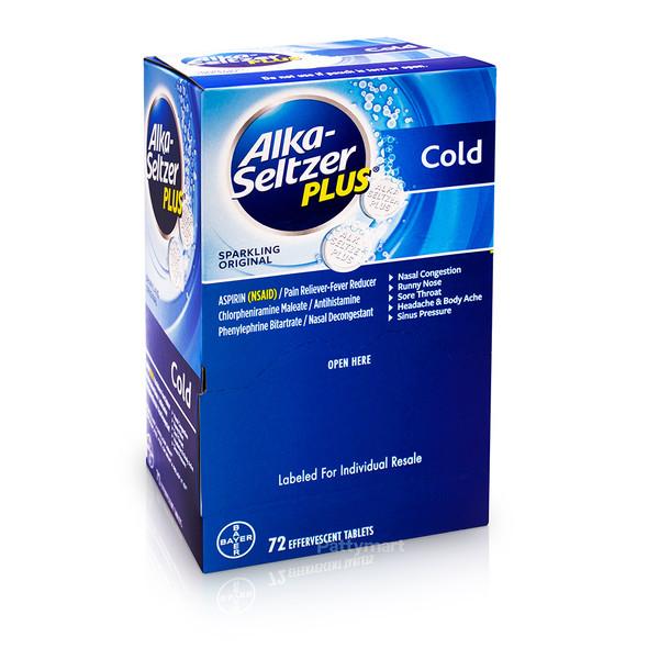 Alka-Seltzer Display Cold 72 tablets