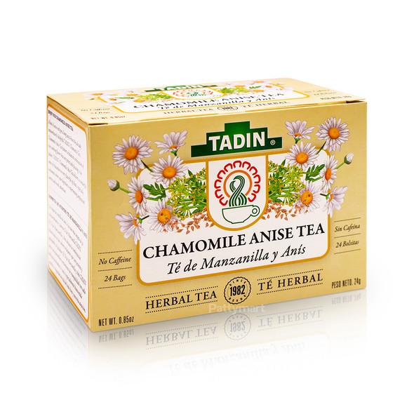 Te Manzanilla y Anis / Tea Chamomile and Anise TADIN_Box_Caja