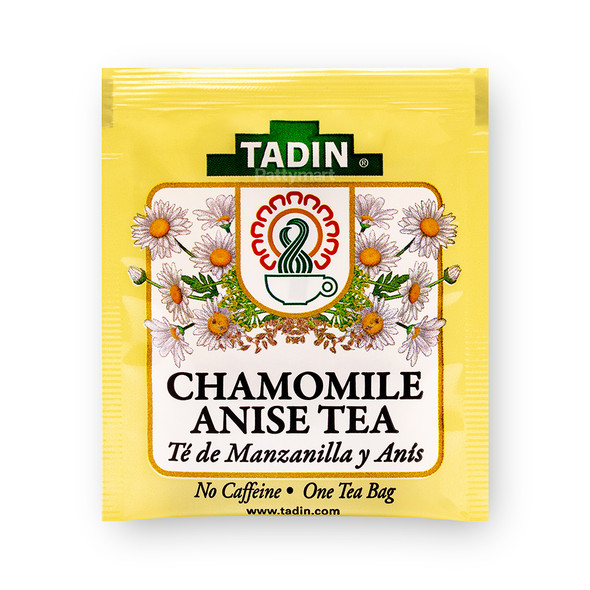 Te Manzanilla y Anis / Tea Chamomile and Anise TADIN_Bag_Bolsa