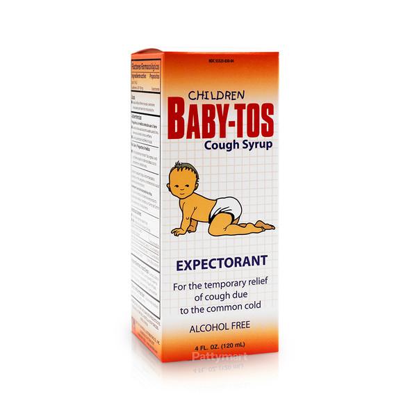 Baby Tos Cough Children Syrup / Jarabe Infantil 4oz (120ml)