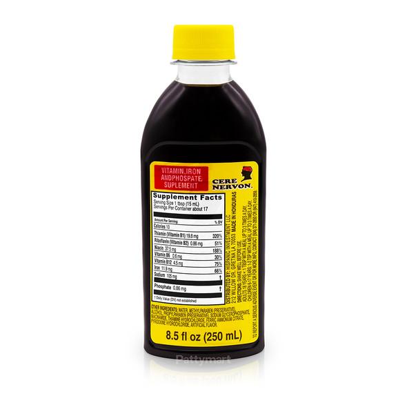 Cerenervon Syrup / Cere nervon Jarabe 8.5oz (250ml)