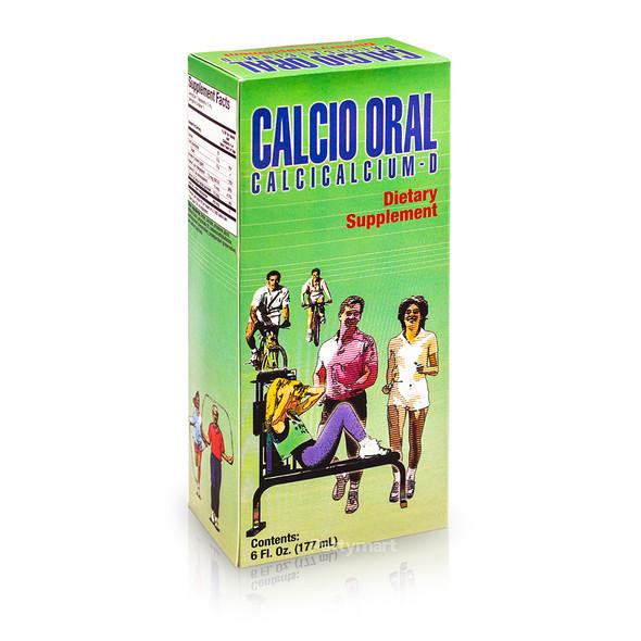 Calcio Oral - Calcicalcium D 6 oz (177ml)