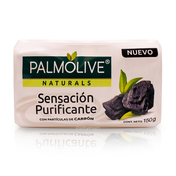 Jabón Palmolive Sensacion Purificante con Carbon150gr