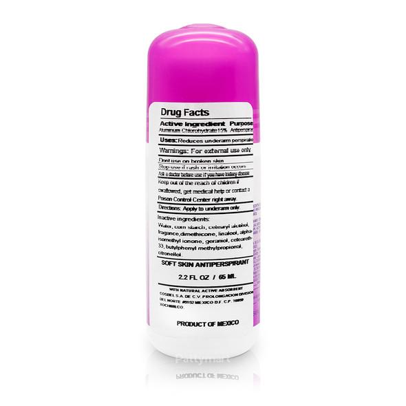 Desodorante Obao Frescura Suave 2.29 oz_Back