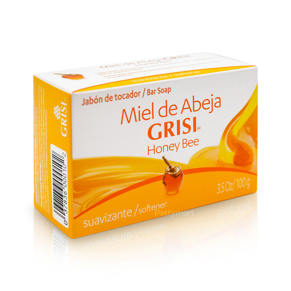 Jabon Miel de Abeja GRISI 3.5 oz_Box_Caja