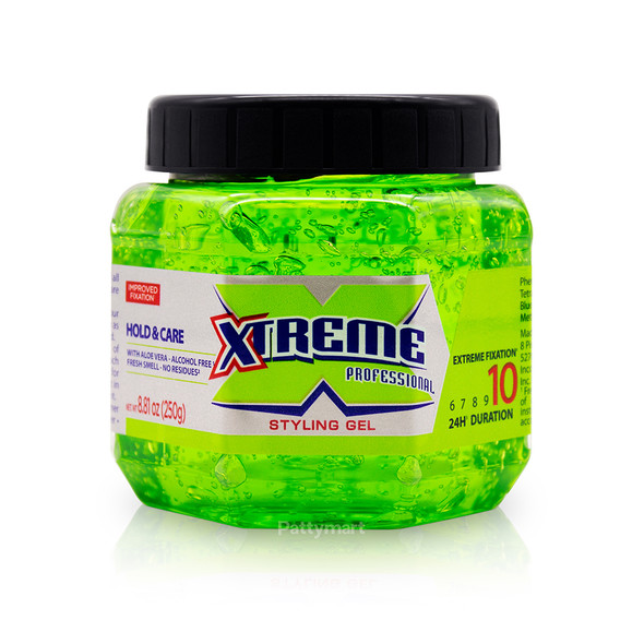Gel Xtreme Verde 250gr_Front