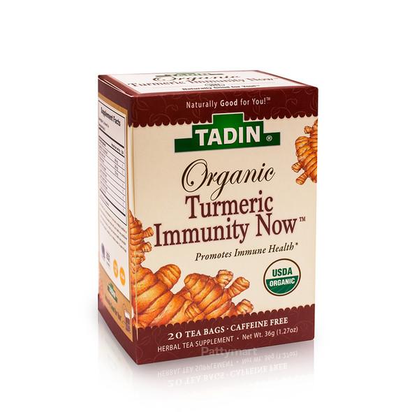 Tea Turmeric Immunity Organic TADIN_BoxFront