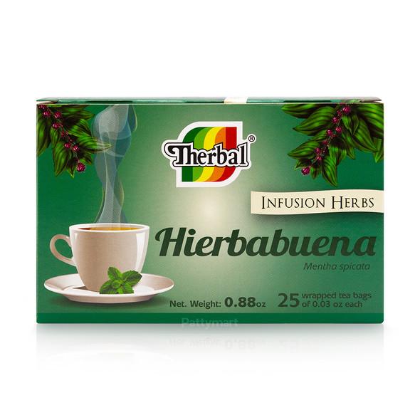 Tea Hierbabuena THERBAL 25-CT_BoxFront_CajaFrente