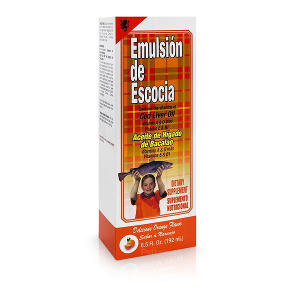 EMULSION DE ESCOCIA NARANJA 6.5 OZ