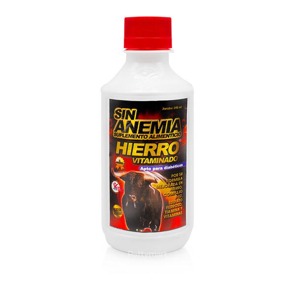 Sin Anemia Hierro Vitaminado Jarabe 240ml