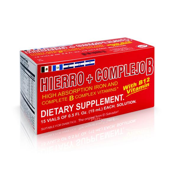 HIERRO + COMPLEJO B VIALES