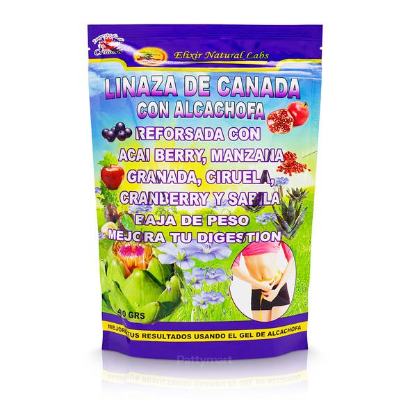 Linaza de Canadá con Alcachofa