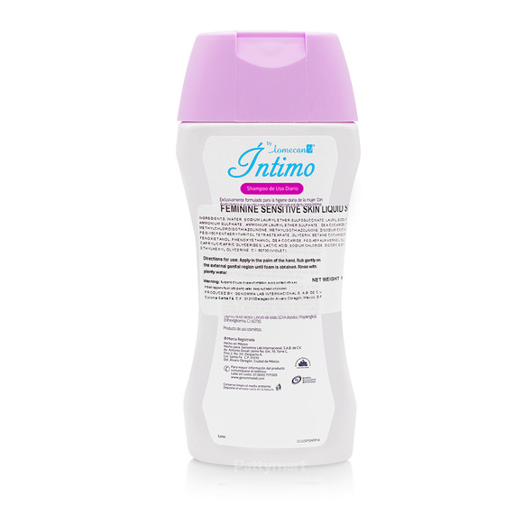 Shampoo Intimo Lomecan Piel Sensible 200 ml