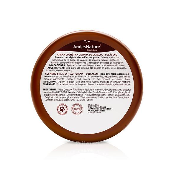 Crema Andes Baba de Caracol 5.1 Oz