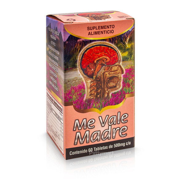 ME VALE MADRE X 60 TABS_BOX
