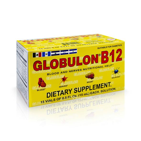 GLOBULON B12 BEBIBLE 15 VIALS 0.5 FL OZ C/U