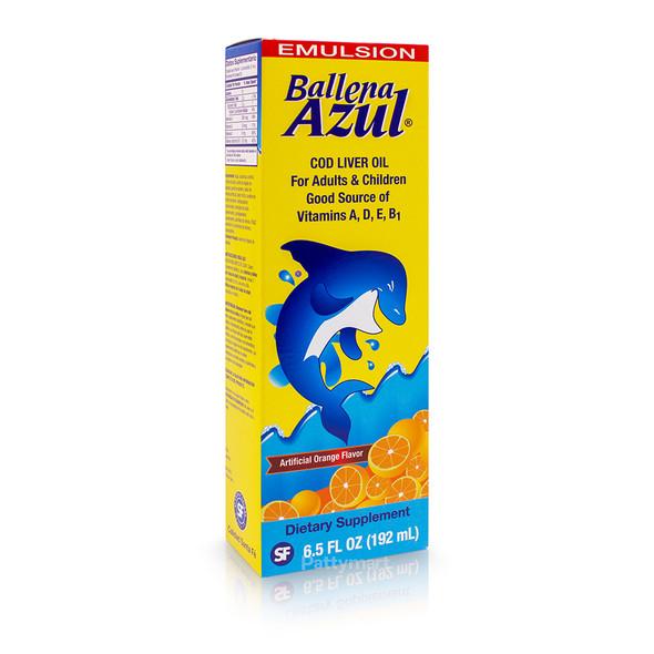 Emulsion Ballena Azul - ORANGE_Caja