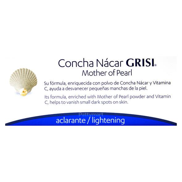 JBN GRISI CONCHA NACAR / MOTHER OF PEARL 3.5 OZ