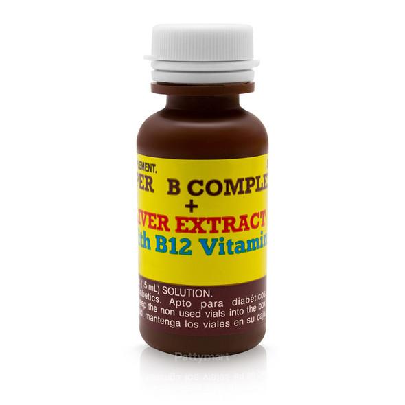 SUPER COMPLEJO B + HIGADO 10 VIALES 15 ml