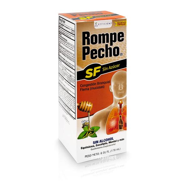 ROMPE PECHO SF SUGAR FREE 6 OZ_Box_Caja