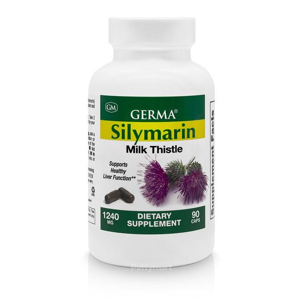Silymarin x 90caps GERMA_Bottle_Botella