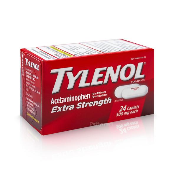 TYLENOL CAPS EXTRA STRENGTH X 24