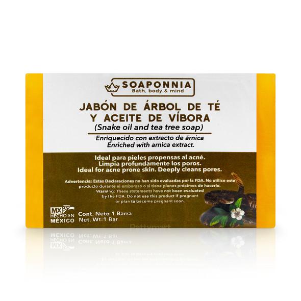 Jbn Arbol de Te y Aceite de Vibora Soaponnia Mx