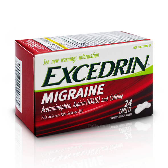 EXCEDRIN MIGRAINE X 24 TABS