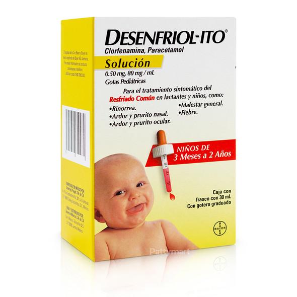DESENFRIOLITO GOTAS 30 ML AMARILLO