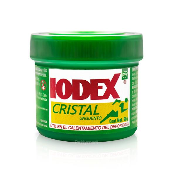 IODEX CRISTAL 60 GR (VERDE)